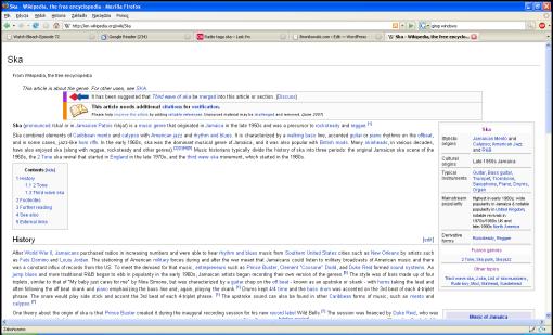 Wikipedia wyczyszczona Stylish